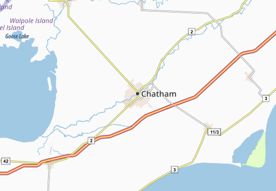Chatham Map