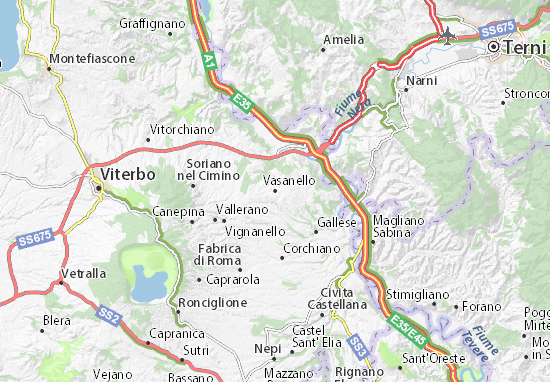 Carte-Plan Vasanello
