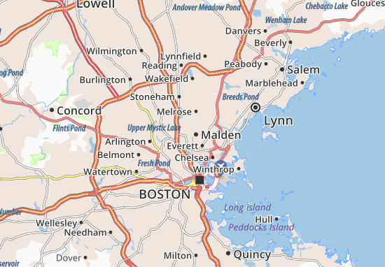 Malden Map