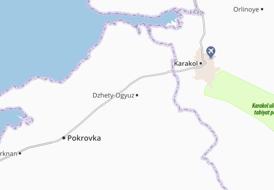 Mapas-Planos Dzhety-Ogyuz