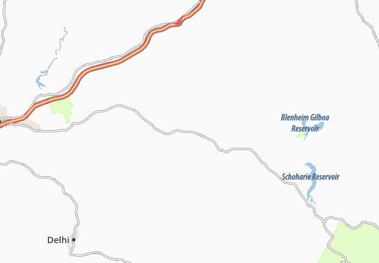 Harpersfield Map