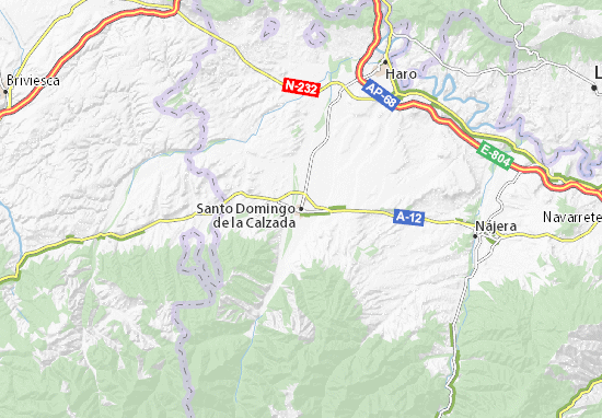 Mapas-Planos Santo Domingo de la Calzada