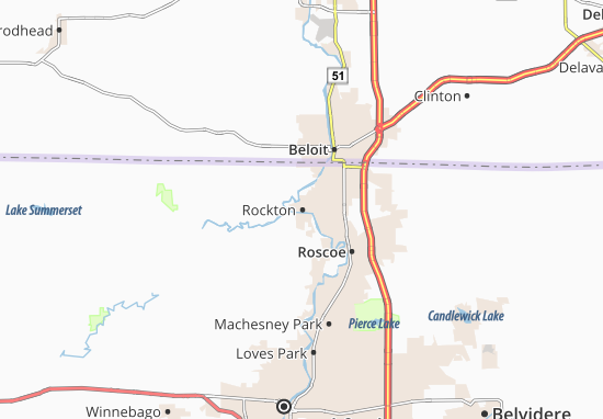 Mappe-Piantine Rockton