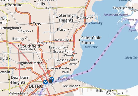 Eastpointe Map