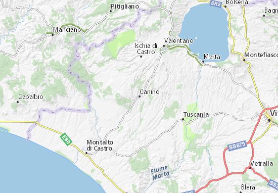Mappe-Piantine Canino