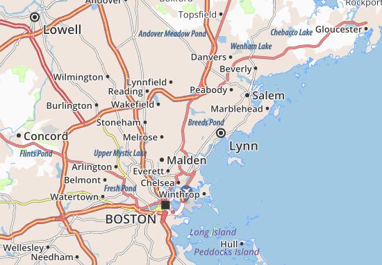 Saugus Map