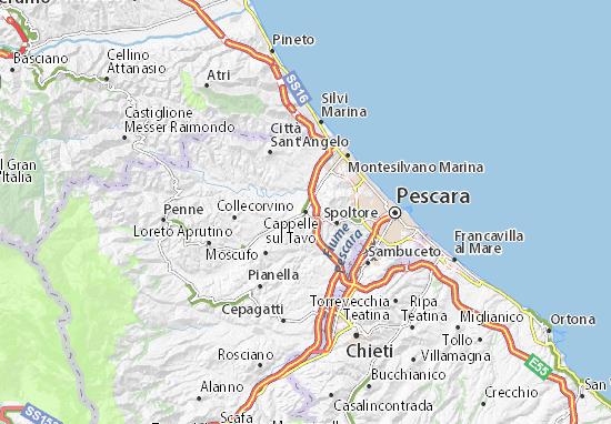 Mappe-Piantine Cappelle sul Tavo