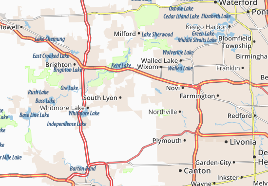 Lyon Karte.Karte Stadtplan Lyon Twp Viamichelin