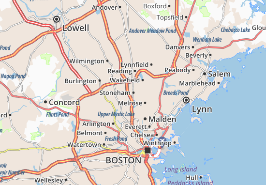 Stoneham Map