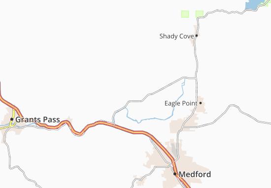 Sams Valley Map