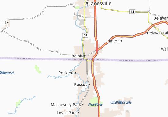 Beloit Map