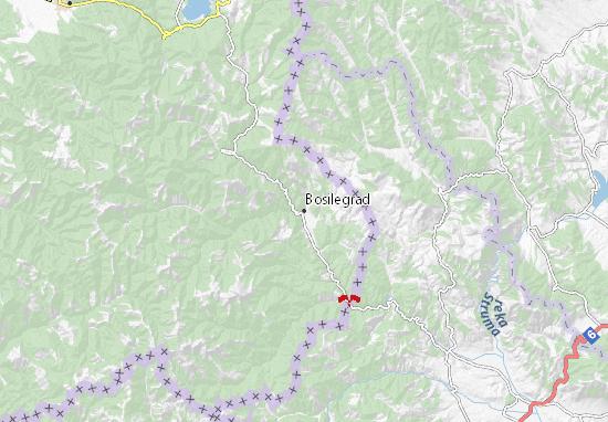 Bosilegrad Map