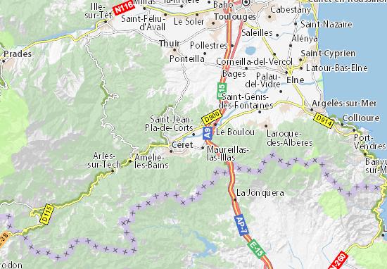 Mapas-Planos Saint-Jean-Pla-de-Corts