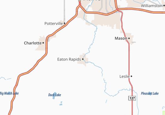 Mappe-Piantine Eaton Rapids
