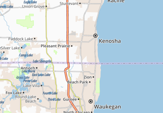 Pleasant Prairie Map