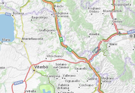 Carte-Plan Attigliano
