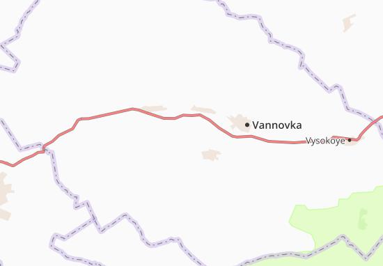 Kokterek Map