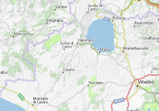 Mappe-Piantine Piansano
