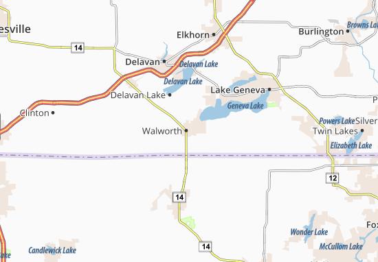 Walworth Map