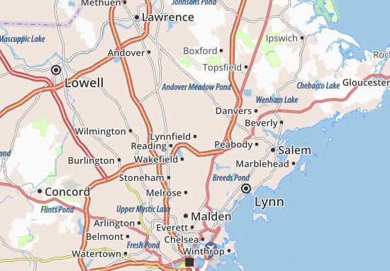 Carte-Plan Lynnfield