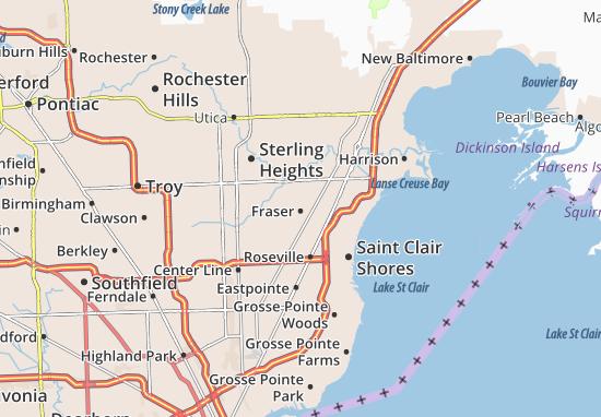 Mapas-Planos Fraser