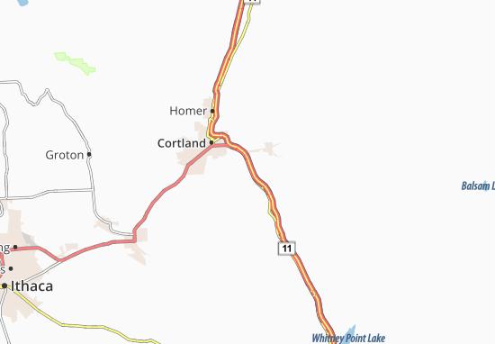 Blodgett Mills Map