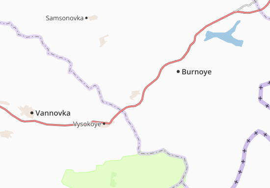Kremenevka Map