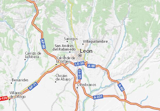 Mapas-Planos León