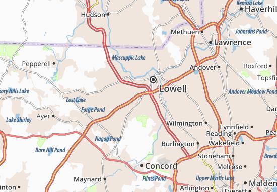 Mapas-Planos Chelmsford