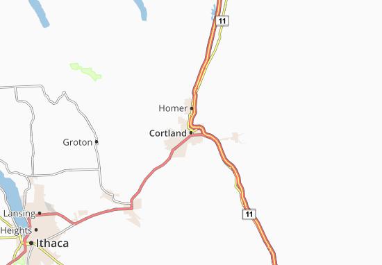 Mapas-Planos Cortland