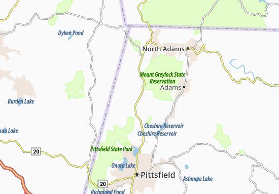 New Ashford Map