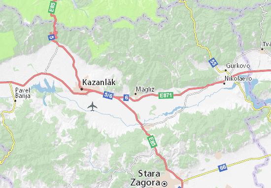 Mapas-Planos Măgliž