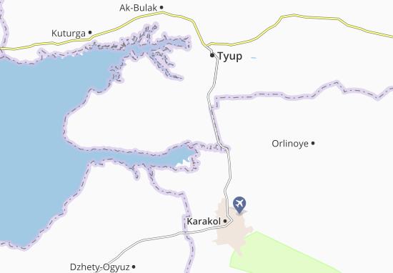 Mapas-Planos Mikhaylovka