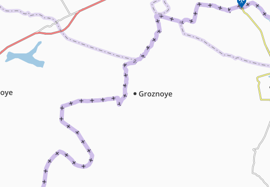 Mapas-Planos Groznoye