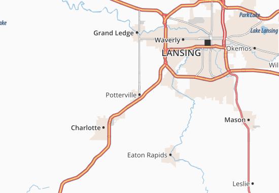 Potterville Map