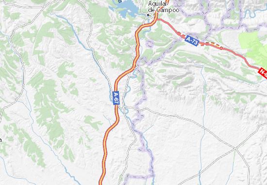Mapas-Planos San Quirce de Riopisuerga