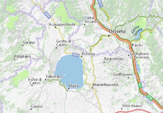 Mappe-Piantine Bolsena