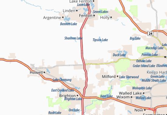 Hartland Map