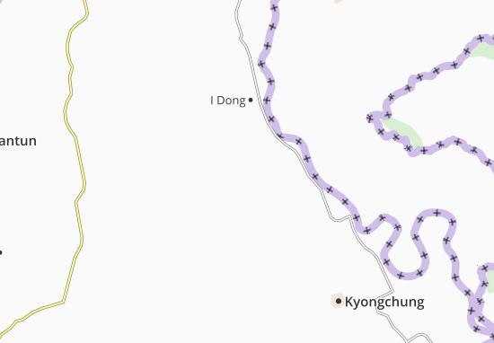 Mapas-Planos Yonbuk-Nodongjagu