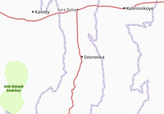 Mapa Plano Sosnovka