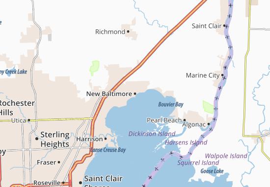 New Baltimore Map