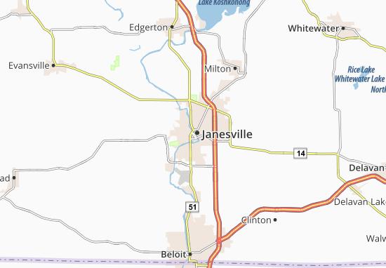 Mappe-Piantine Janesville