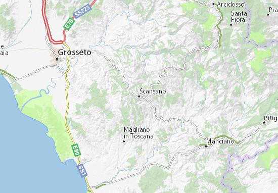 Mappe-Piantine Scansano