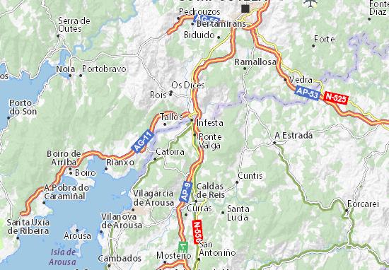 Ponte Valga Map