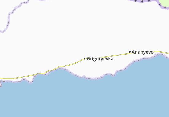 Mapas-Planos Grigoryevka