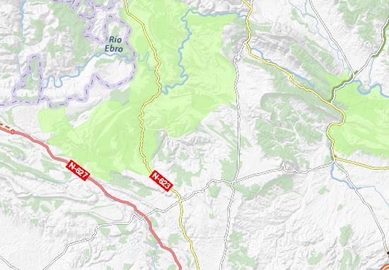 Valle De Sedano Mapa.Mapa Valle De Sedano Plano Valle De Sedano Viamichelin