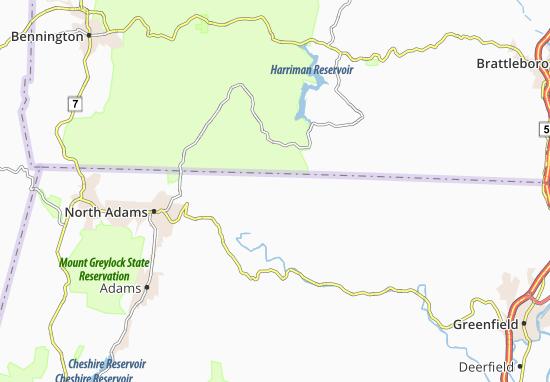 Monroe Bridge Map