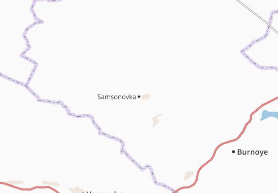 Mapas-Planos Samsonovka