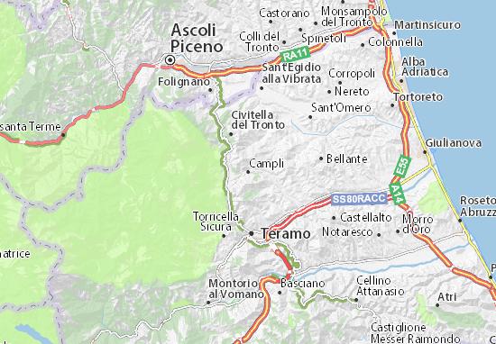 Mappe-Piantine Campli