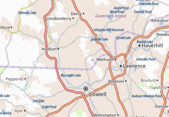 Pelham Map